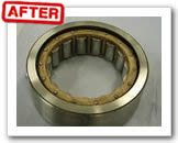 Ultrasonic cleaning for bearing